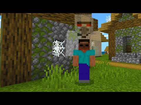The Ghost Villager possessed me in Minecraft.. (WATCH AT OWN RISK)