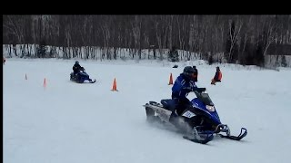 Snow Drag Racing - Just Snowmobiles