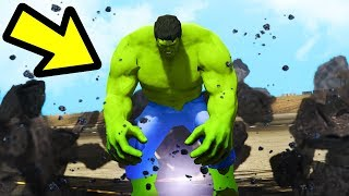 Playing GTA 5 as THE HULK!