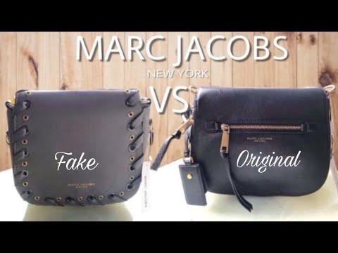 af751dd44ad81 MARC JACOBS Handbag ORIGINAL VS FAKE - YouTube