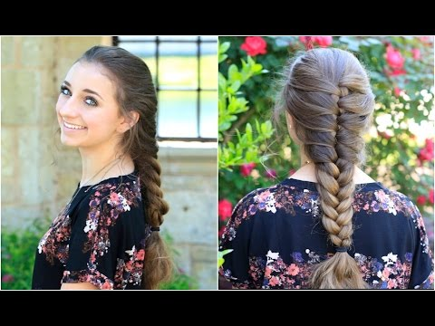 Faux French Braid | Cute Girls Hairstyles