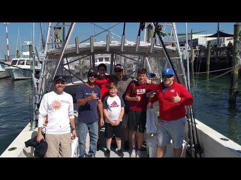 Deep Sea Fishing Trip 2019 Highlights - Orlando, Florida - Port Canaveral - Catch And Cook