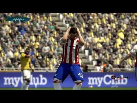 ELIMINATÓRIAS 2018 - PARAGUAY X COLOMBIA - 06/10/2016 - PES 17 PS4