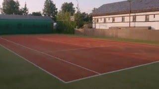 Теннисный корт. Искусственная трава. Уход за искусственной травой. Клининг спортивных покрытий.(, 2015-07-19T18:47:04.000Z)