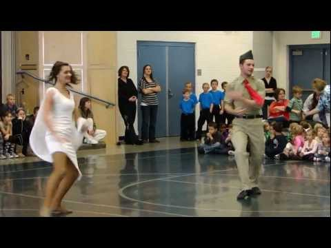 Josh Groban - I'll Be Home For Christmas (Military Tribute) - Youth Rumba - Endeavour03 Version