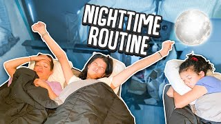 NIGHT TIME ROUTINE family of 8 in RV!