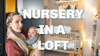 Nursery In A One Bedroom Apartment | Budget Decor, Small Space Living With A Baby