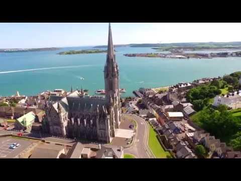 Cobh County Cork, Ireland. June 15th 2015. DJI Inspire 1080p