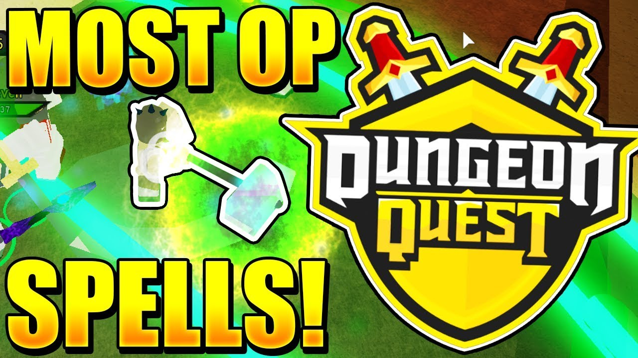 I Got The Best Spells In Roblox Dungeon Quest 1 Youtube