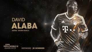 FIFA FIFPro World XI 2013: Defenders Shortlist