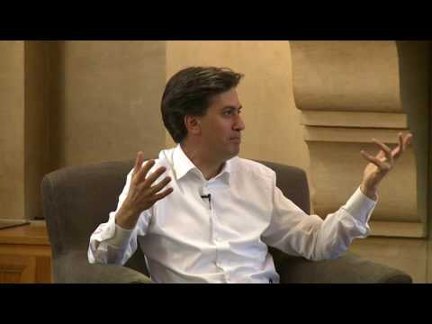 'The Future of the Left' Nuffield College, Oxford. 20/10/2016. Guest speaker Ed Miliband