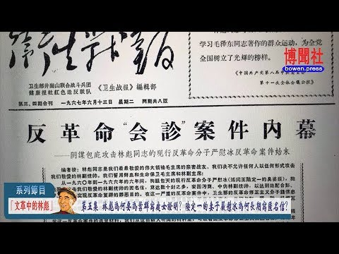 """丁凯文""""文革中的林彪""""(系列节目)第五集  林彪为何要为叶群写处女证明? 陆定一的妻子严慰冰为何长期写匿名信?"""