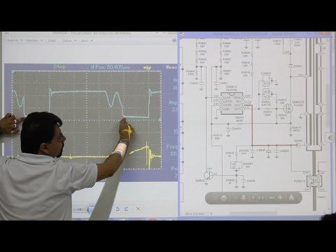 Análise da fonte TV LED Samsung UN32D5000