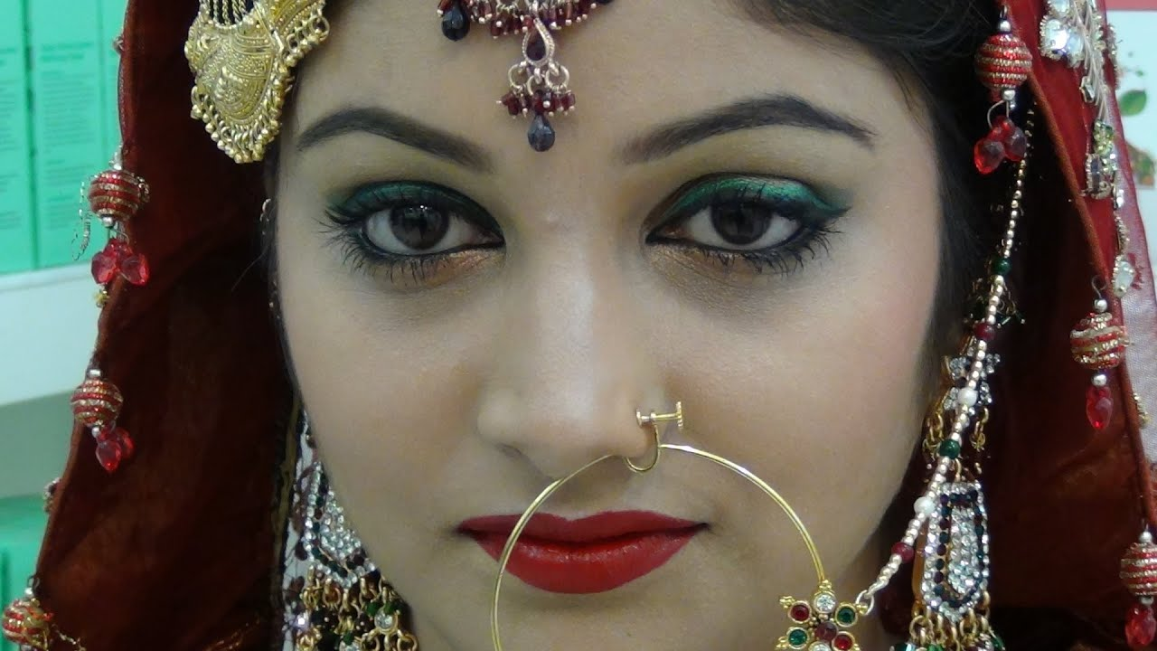 muslim bridal makeup tutorial - youtube