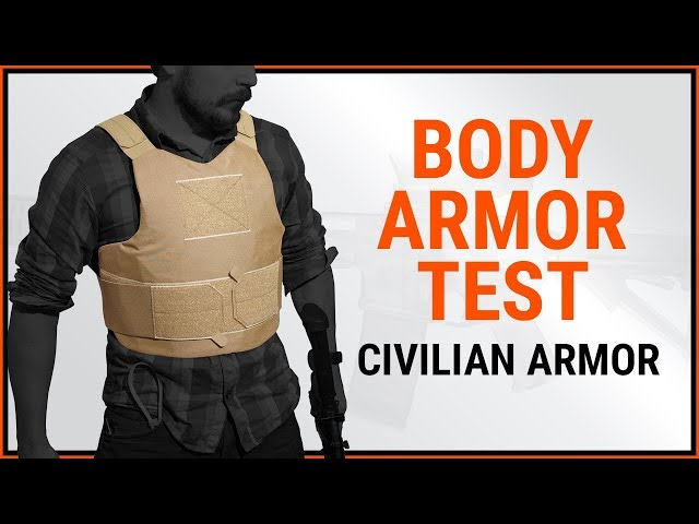 Civilian Body Armor - Bulletproof Test With Magnum, Mac-10, Mp5, Shotgun