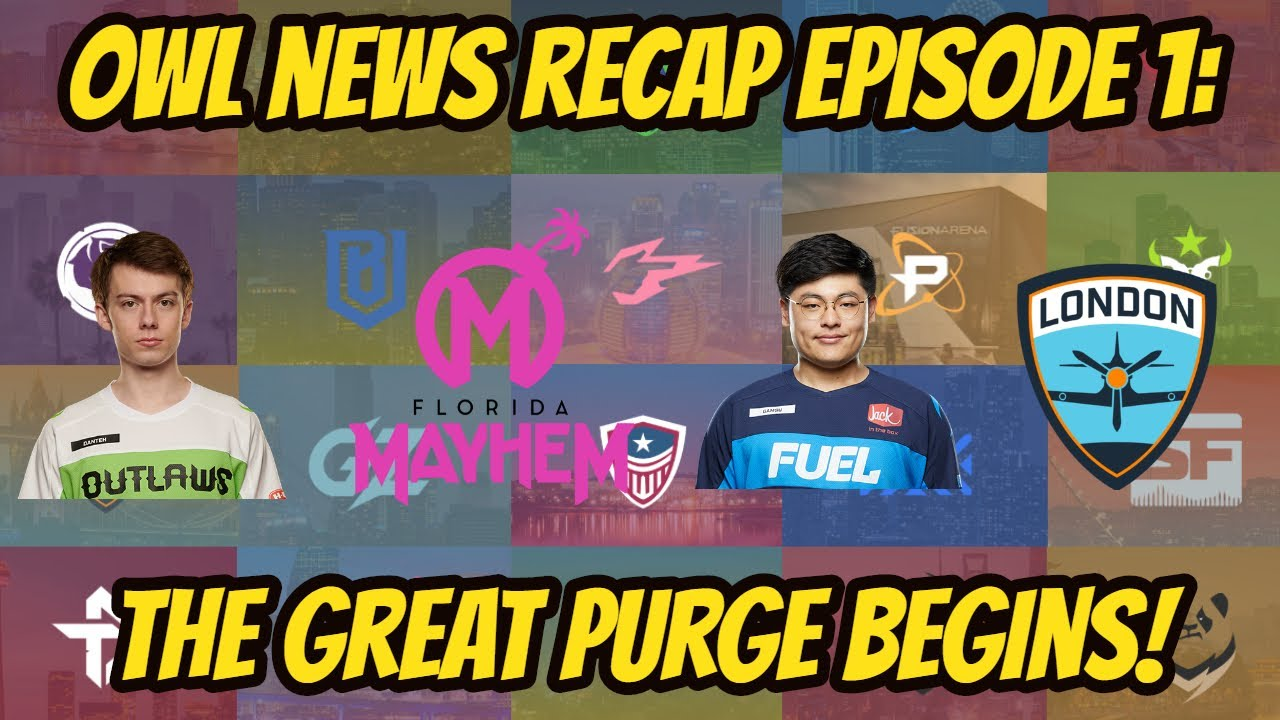 Everyone is Cleaning House! OWL Season 4 Offseason Recap Episode 1