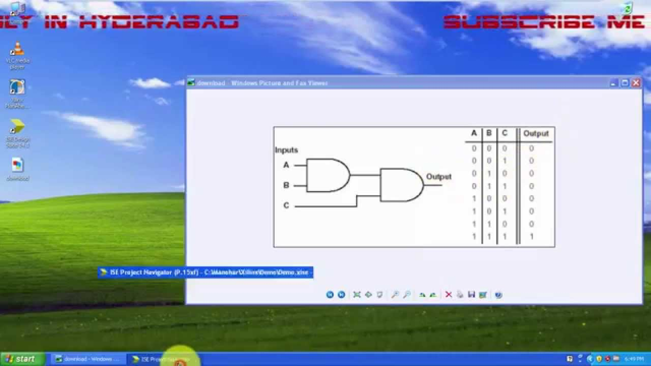 Vhdl Basic Tutorial For Beginners About Three Input And Gates Youtube Transistor Logic Gate Animation