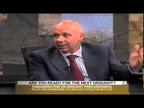 IGAD Executive Secretary TV coverage on drought
