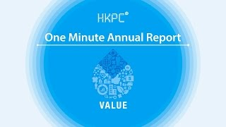 HKPC One Minute Annual Report 2013-2014