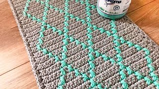 Tapete de Crochê em Fio Conduzido por Marcelo Nunes