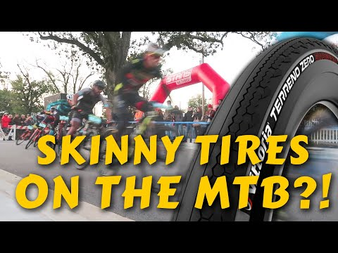HE PUT ROAD TIRES ON HIS MTB FOR THIS RACE... Oz Trails Fat Tire Criterium In Bentonville, AR