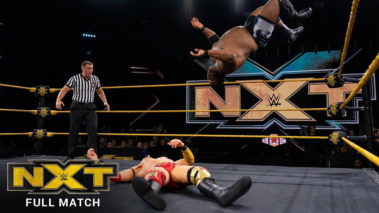FULL MATCH - Keith Lee vs. Dominik Dijakovic: NXT, Sept. 25, 2019