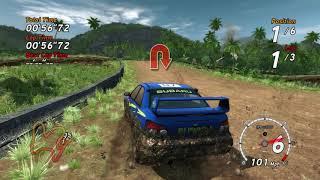 Tropical 3 - Sega Rally Revo (4k 60 fps)