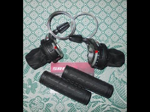 Переключатели на руль Sram X0 3-/9-speed Twist Shifters