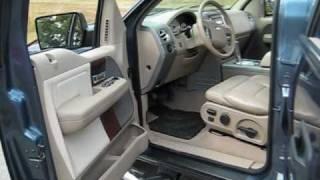 2004 Ford F150 Crew Cab Lariat Blue/Tan 4x4 LOADED!!