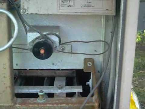 Brivis Buffalo Gas Central Heater Disassembly  YouTube