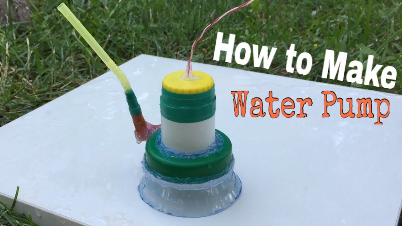 How to make a super power water pump at home easy way for Easiest way to build a house
