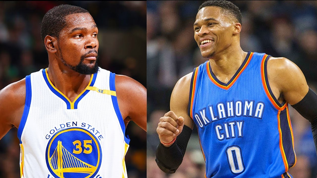 9803bcb3d1a7 Kevin Durant and Russell Westbrook are Friends Again! Paul George Says They  are Good Again