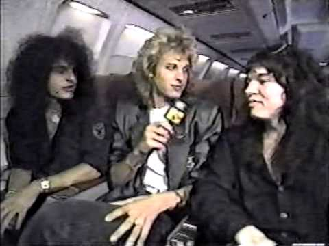 Cinderella Interview Vintage MTV Headbangers Ball 1989 Moscow Music Peace Festival