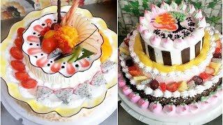 Best Satisfying Cake Decorating Compilation #11 💛 Amazing Chocolate Cake Styles & Ideas