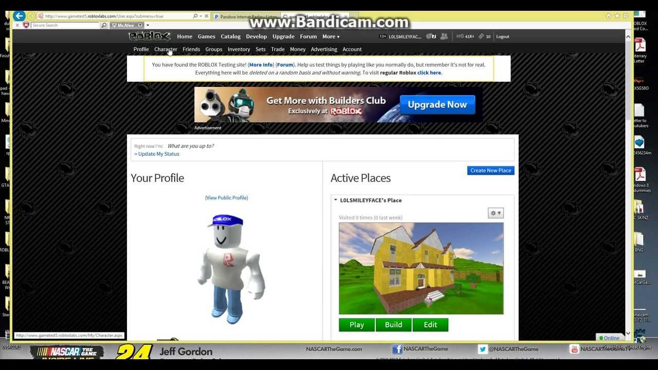 ROBLOX 2014: INFINITE ROBUX TRICK - YouTube