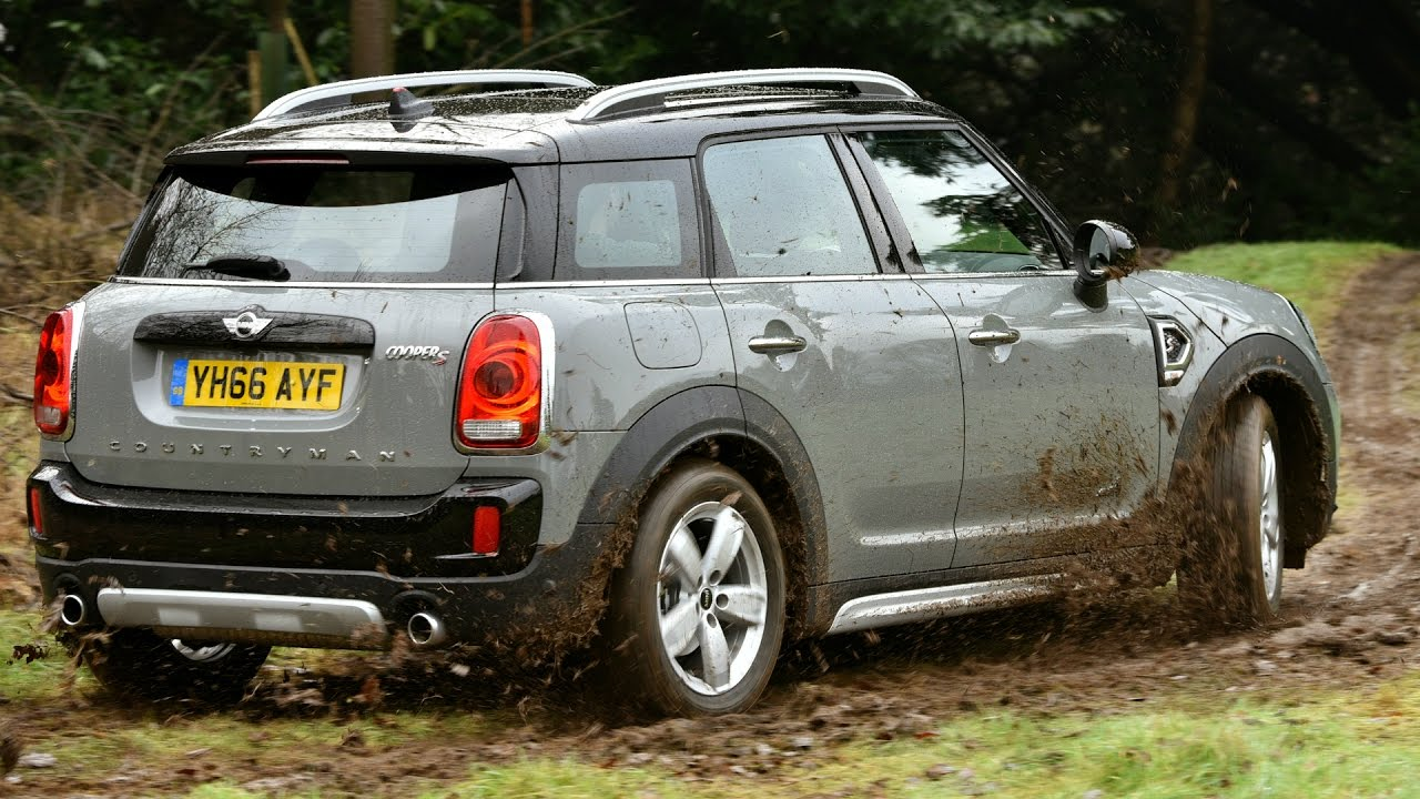 2017 Mini Cooper S Countryman All4 Off Road Drive Youtube