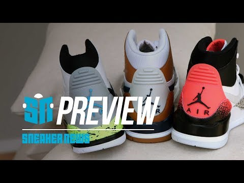 Jordan showed us every sneaker releasing this Fall 2018