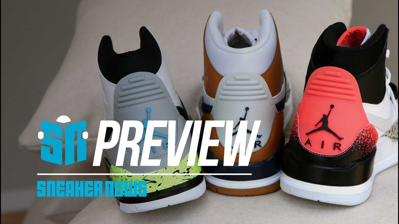 c5bd3c20792 Jordan showed us every sneaker releasing this Fall 2018 - YouTube
