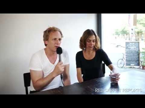 Julia Richter und Kai Lentrodt im Gespräch...