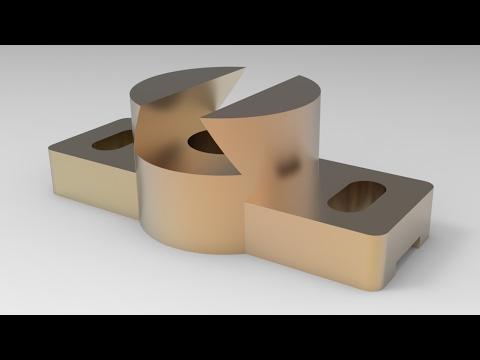 Solid Modeling from Solidworks Views/Solidworks Görünüşlerden Katı Modelleme Yapmak