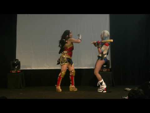 related image - Avignon Geek Expo 2017 - Concours Cosplay - 06 - Harley Quinn - Wonder Woman