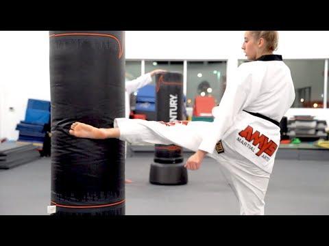 My School's Black Belt Testing 2019 | AMYS Taekwondo
