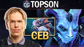 OG.TOPSON RIKI WITH CEB SLARDAR - DOTA 2 7.23F GAMEPLAY