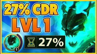 *INSANE STRATEGY* NEW WAY TO GET MAX CDR LVL 1 (DONT TELL RIOT) - BunnyFuFuu