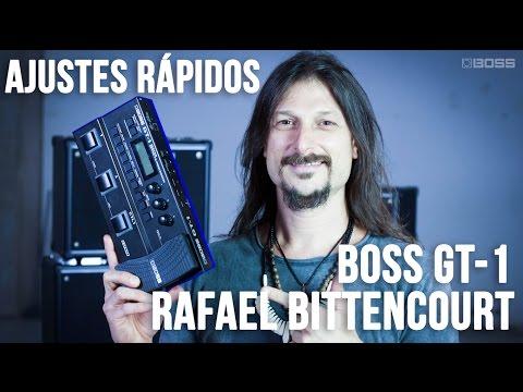 BOSS GT-1 - Ajustes Rápidos com Rafael Bittencourt