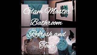 Glam Master Bathroom Tour