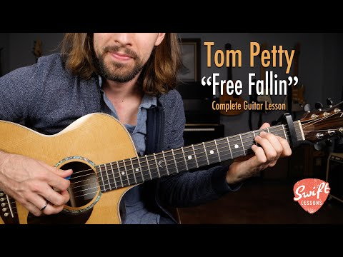 Tom Petty - Free Fallin' - Easy Guitar Songs Lesson