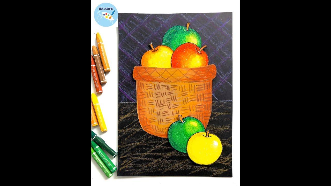 Bé học vẽ và cắt dán – Hoạ sĩ Paul Cézanne và Những quả táo ⎮ Arts & Crafts For Kids Online