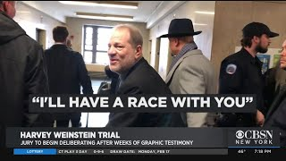 Weinstein Jury To Begin Deliberations