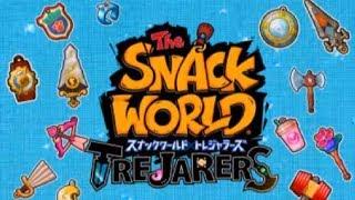 スナックワールドを初実況!#1【スナックワールド】 アニメでお馴染み、スナックワールドトレジャラーズを三浦TVが実況!